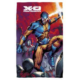 Xo Manowar Sword Of Light Golf Towel W Grommet