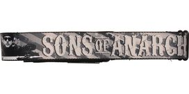 Sons of Anarchy Title Jax Teller American Flag Grayscale Seatbelt Mesh Belt