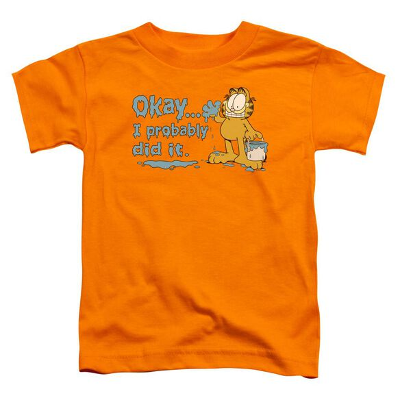 GARFIELD I PROBABLY DID IT-S/S T-Shirt