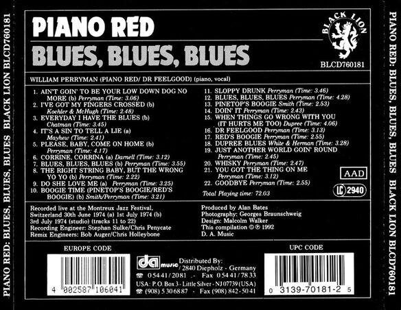 Blues, Blues, Blues 693