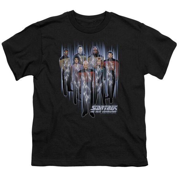 STAR TREK BEAM US UP - S/S YOUTH 18/1 - BLACK T-Shirt