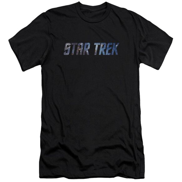 Star Trek Space Logo Premuim Canvas Adult Slim Fit