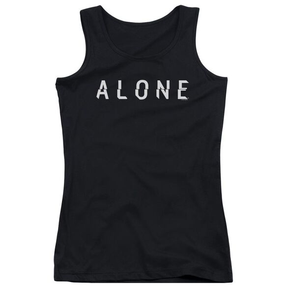Alone Alone Logo Juniors Tank Top