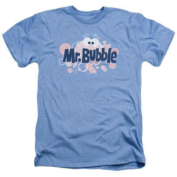 Mr Bubble Eye Logo Adult Heather Light