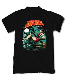 Riot Society - Creature From The Black Lagoon Kanji T-Shirt