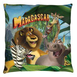Madagascar Jungle Time Throw