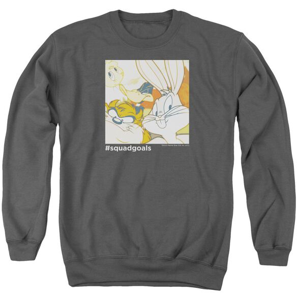 Looney Tunes Squad Goals Adult Crewneck Sweatshirt