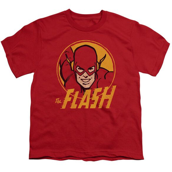 Dc Flash Circle Short Sleeve Youth T-Shirt