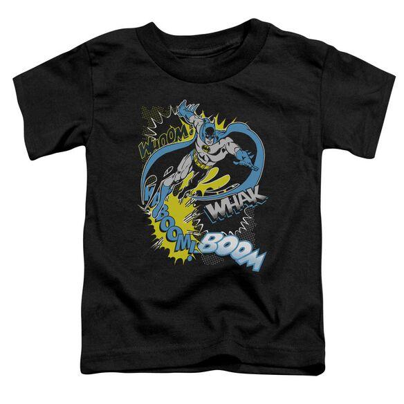 Batman Bat Effects Short Sleeve Toddler Tee Black Sm T-Shirt