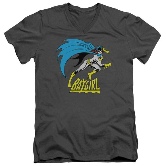 Dc Batgirl Is Hot Short Sleeve Adult V Neck T-Shirt