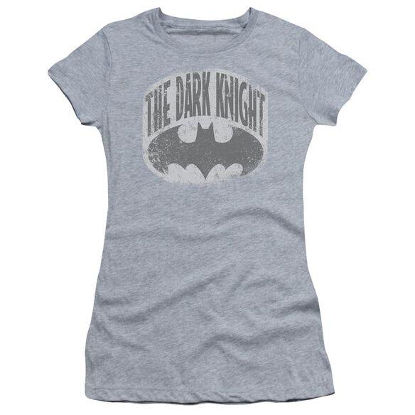 Batman Dark Knight Shield Short Sleeve Junior Sheer T-Shirt