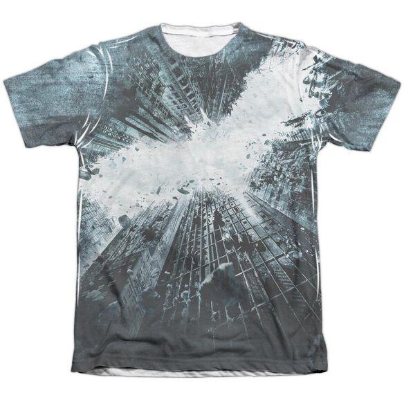 Dark Knight Rises Big Poster Adult Poly Cotton Short Sleeve Tee T-Shirt
