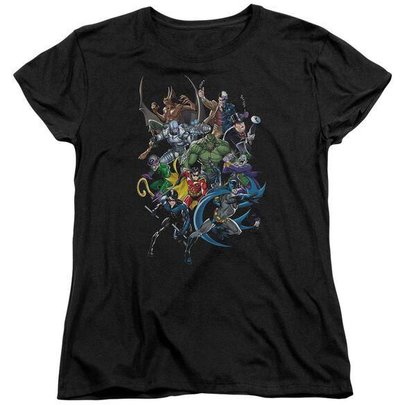 Batman Saints And Psychos Short Sleeve Womens Tee T-Shirt