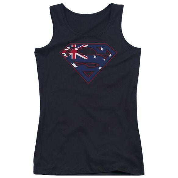 Superman Australian Shield Juniors Tank Top