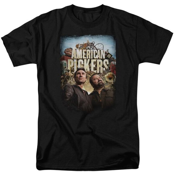 American Pickers Picker Poster Short Sleeve Adult T-Shirt