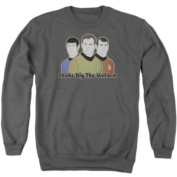 Star Trek Dig It Adult Crewneck Sweatshirt