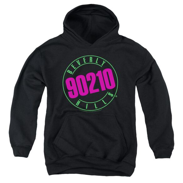 90210 Neon Youth Pull Over Hoodie