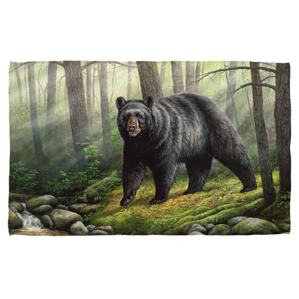 Wild Wings Woodland Morning 2 Bath Towel