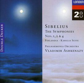 Vladimir Ashkenazy - Symphonies 1, 2 & 4