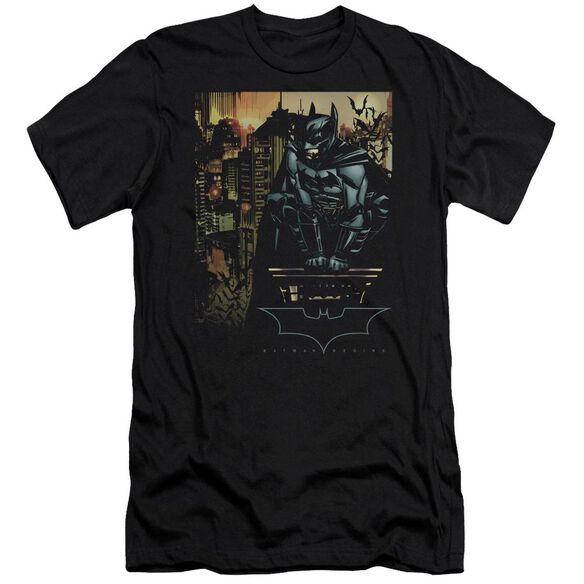 Batman Begins Waiting Short Sleeve Adult T-Shirt