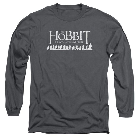 Hobbit Walking Logo Long Sleeve Adult T-Shirt