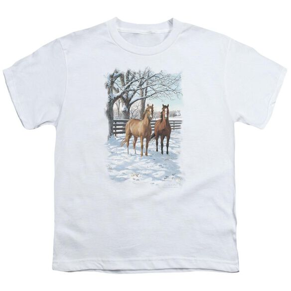Wildlife Coffee And Chocolate Short Sleeve Youth T-Shirt