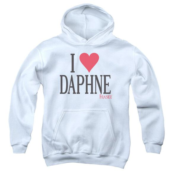 Frasier I Heart Daphne Youth Pull Over Hoodie