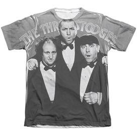 Three Stooges Classy Fellas Adult Poly Cotton Short Sleeve Tee T-Shirt