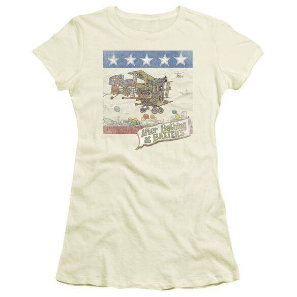 Jefferson Airplane Baxter's Cover Short Sleeve Junior Sheer T-Shirt
