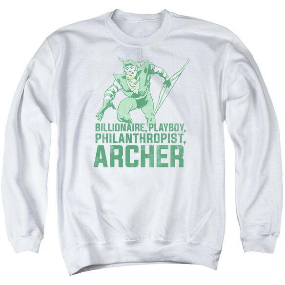 Dc Archer Adult Crewneck Sweatshirt