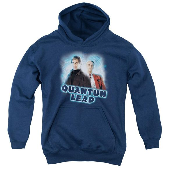 Quantum Leap Sam And Al Youth Pull Over Hoodie