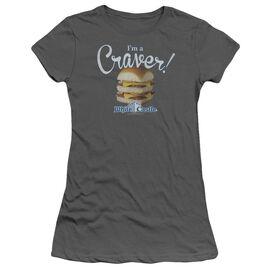 White Castle Craver Short Sleeve Junior Sheer T-Shirt
