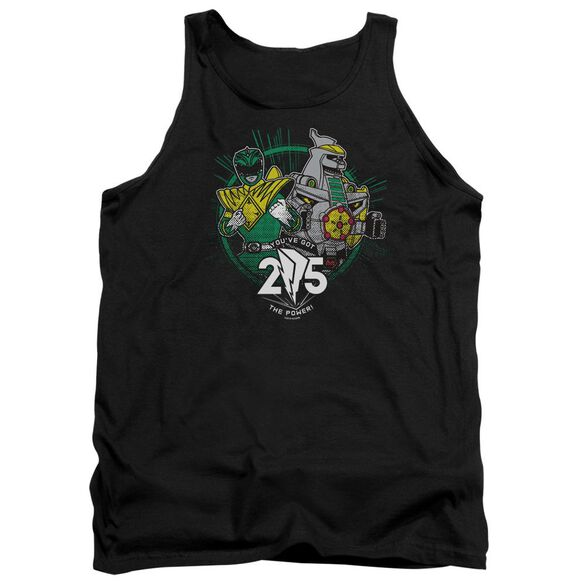 Power Rangers Green 25 Adult Tank