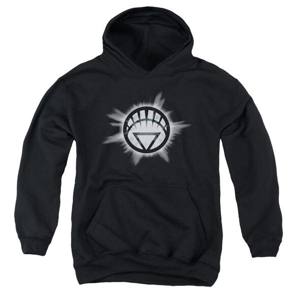 Green Lantern White Glow Youth Pull Over Hoodie
