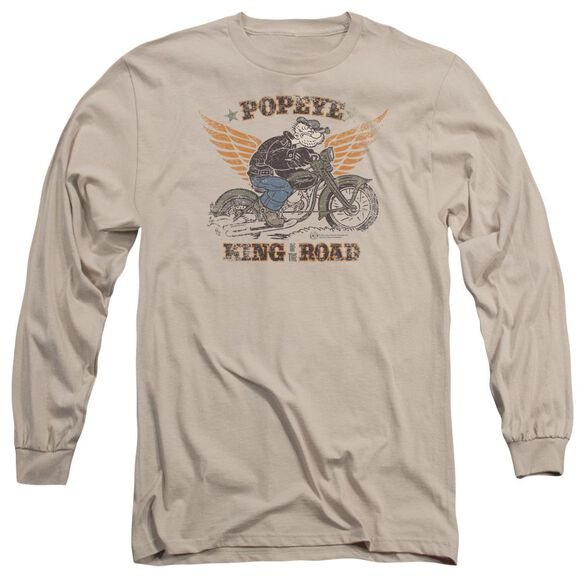 Popeye King Of The Road Long Sleeve Adult T-Shirt