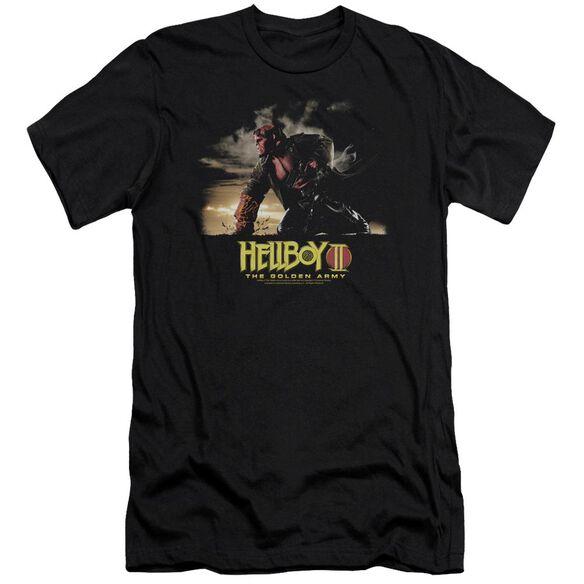 Hellboy Ii Poster Art Premuim Canvas Adult Slim Fit