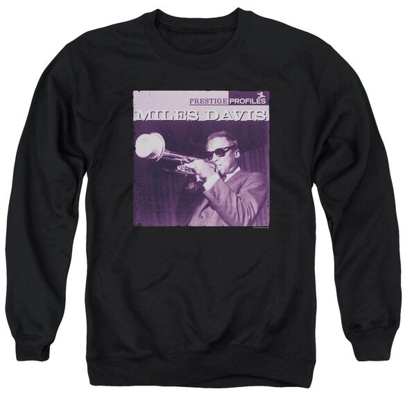 Miles Davis Prince Adult Crewneck Sweatshirt