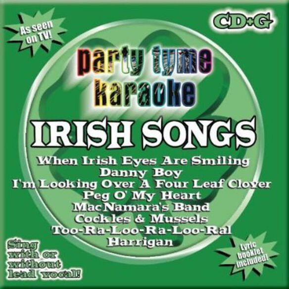 Party Tyme Karaoke: Irish Songs / Various