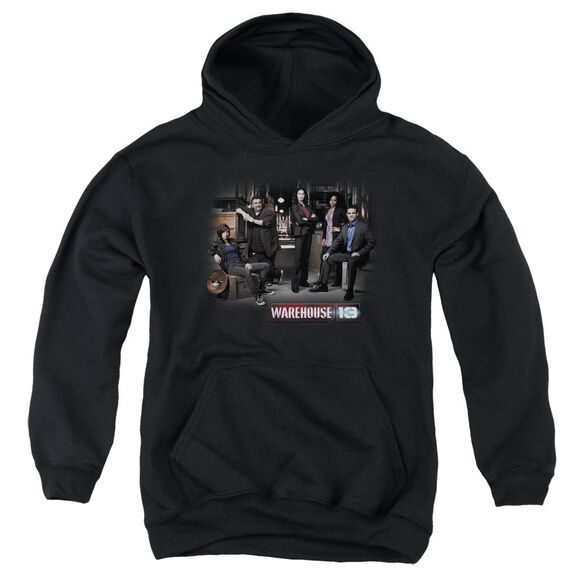 Warehouse 13 Warehouse Cast Youth Pull Over Hoodie