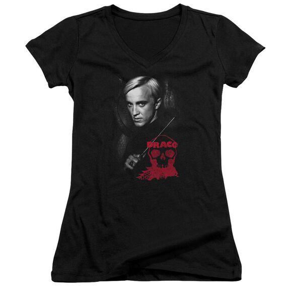Harry Potter Draco Portrait Junior V Neck T-Shirt