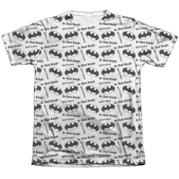 Batman Repeat Dark Knight Adult 65 35 Poly Cotton Short Sleeve Tee T-Shirt