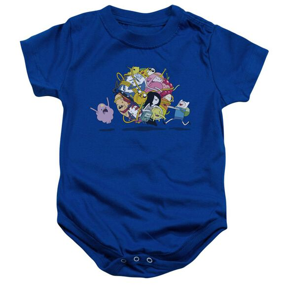Adventure Time Glob Ball Infant Snapsuit Royal Blue