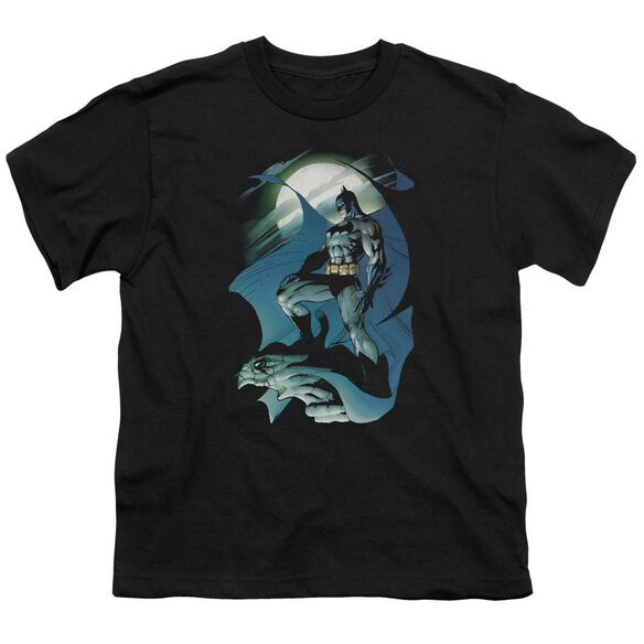 Batman Glow Of The Moon Short Sleeve Youth T-Shirt