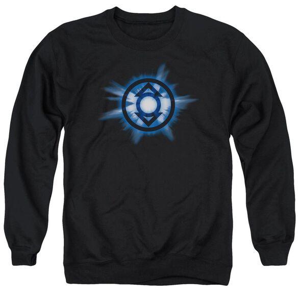 Green Lantern Indigo Glow Adult Crewneck Sweatshirt
