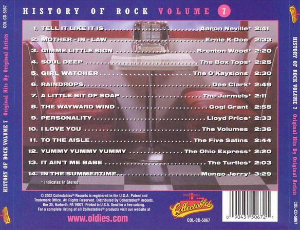 History Of Rock 7 / Various (Rmst)