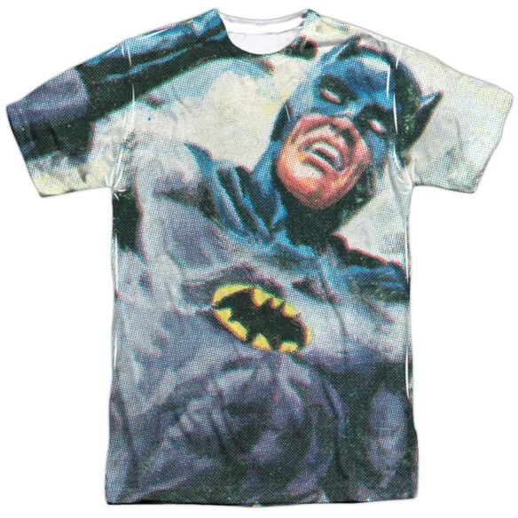 Batman Classic Tv Foliage Short Sleeve Adult Poly Crew T-Shirt