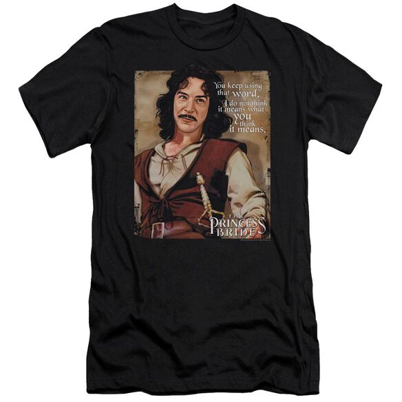 Princess Bride Word Short Sleeve Adult T-Shirt