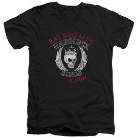 Hardluck Kings Rat Bastards Logo Short Sleeve Adult V Neck T-Shirt