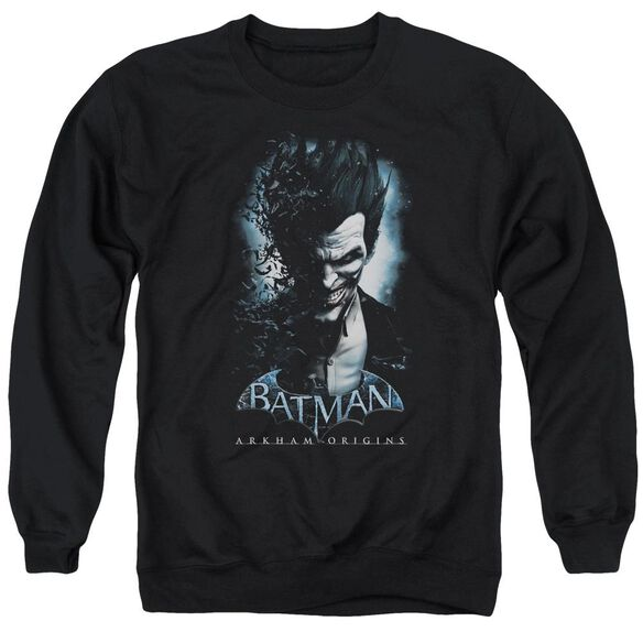 Batman Arkham Origins Joker Adult Crewneck Sweatshirt