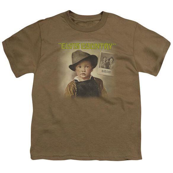 Elvis Elvis Country Short Sleeve Youth Safari T-Shirt